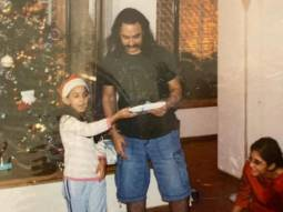 Ira Khan shares her childhood photos with Aamir Khan from their Christmas celebrations