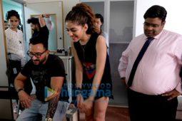 On The Sets Of The Movie Jawaani Jaaneman