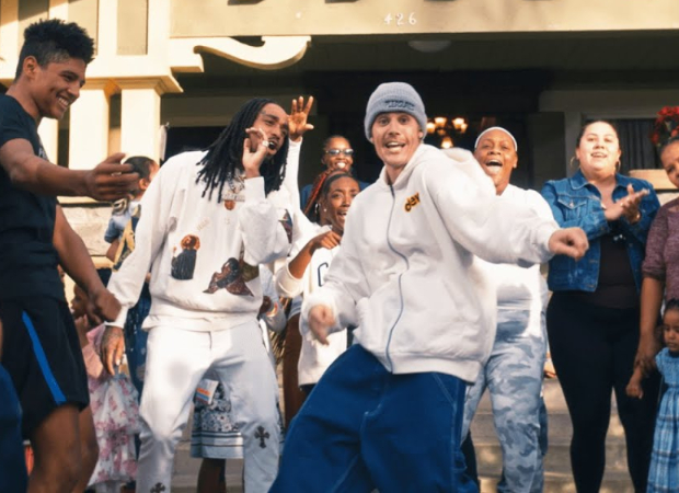 Justin Bieber and Quavo's music video 'Intentions' focuses on safe housing for women and children