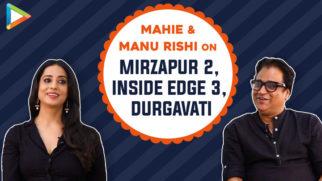 Mahie Gill & Manu Rishi dive into CLASSIC 'Doordarshan' memories, their next films Mirzapur 2