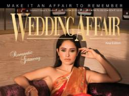 Nushrat Bharucha is saree-clad scintillating diva on the cover of Wedding Affair