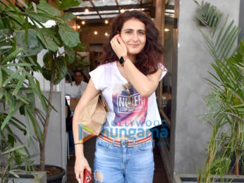 Photos: Fatima Sana Shaikh spotted at The Kitchen Garden in Juhu
