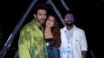 Photos: Kartik Aaryan and Sara Ali Khan snapped promoting Love Aaj Kal on sets of Dance Plus 5