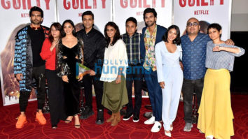 Photos: Kiara Advani and Karan Johar snapped at the trailer launch of Netflix's web series Guilty at Juhu PVR