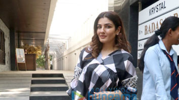 Photos: Raveena Tandon spotted at Hakkasan