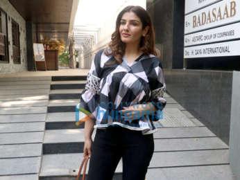 Photos: Raveena Tandon spotted at Hakkasan