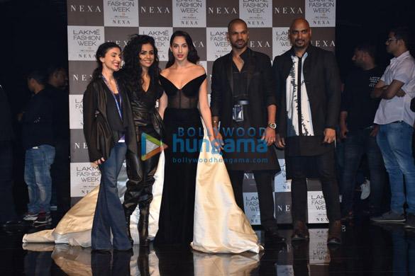 Photos Saiee Manjrekar, Malaika Arora and others snapped at the Lakmé Fashion Week SummerResort 2020 (5)