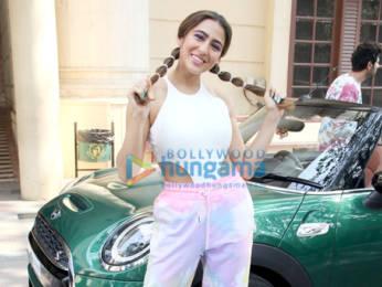 Photos: Sara Ali Khan and Kartik Aaryan snapped at Radio City office in Bandra