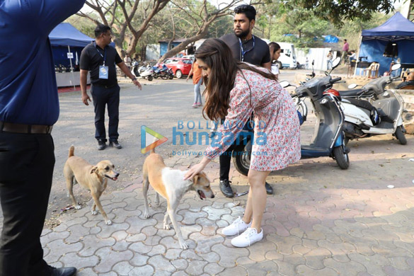 Photos Shraddha Kapoor spotted at Film City (3)