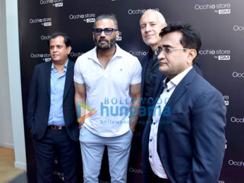 Photos: Suniel Shetty snapped at the launch of the GM Occhio store