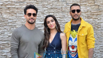 Photos: Tiger Shroff, Shraddha Kapoor and Riteish Deshmukh snapped promoting their film Baaghi 3 at Sun N Sand in Juhu