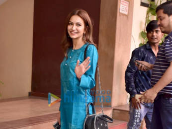 Photos: Tiger Shroff and Kriti Kharbanda spotted at the Kwan office in Andheri