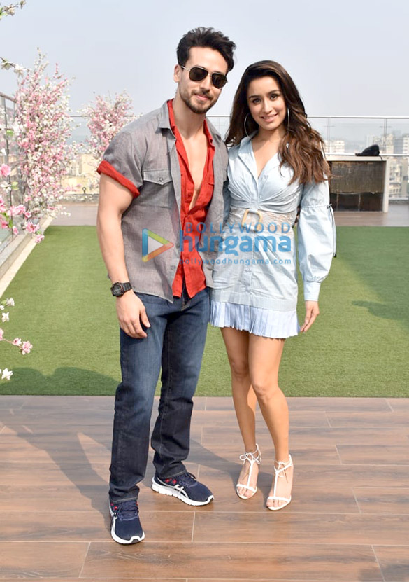 Photos Tiger Shroff and Shraddha Kapoor snapped promoting their film Baaghi 3 (3)