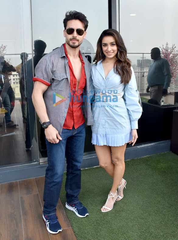 Photos Tiger Shroff and Shraddha Kapoor snapped promoting their film Baaghi 3 (8)