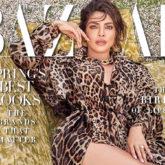 Priyanka Chopra Jonas posing in Dolce Gabbana for the March issue of Harper's Bazaar redefines spiffy for us!