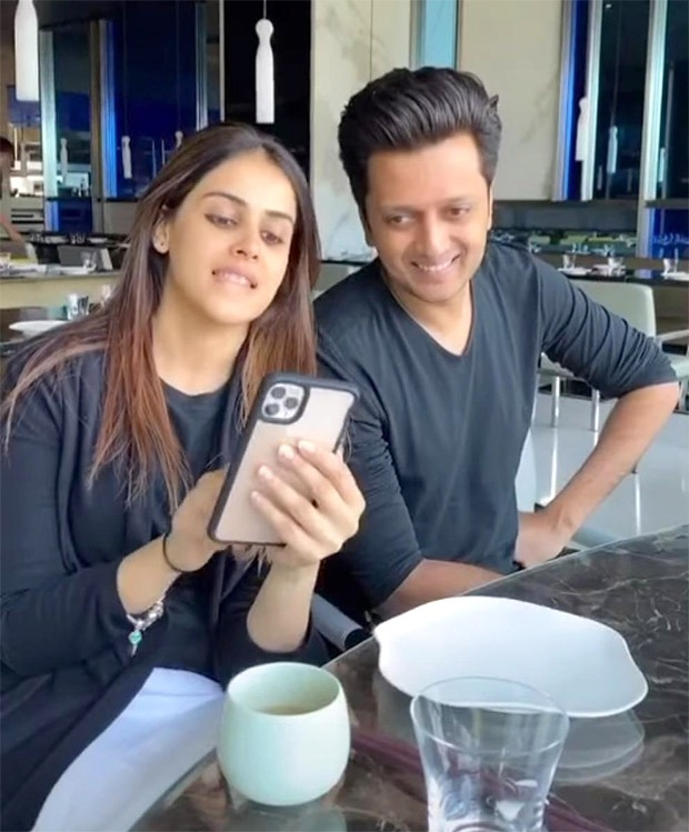 Riteish Deshmukh celebrates eight anniversary with Genelia D'Souza with hilarious video