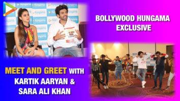 """Sara Ali Khan """"My favourite thing about Kartik Aaryan is that wo…"""" Meet & Greet Love Aaj Kal"""