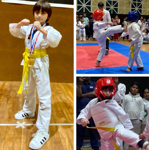Shah Rukh Khan's son AbRam wins gold medal in Taekwondo, he says 'my kids have more awards'