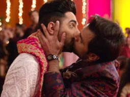 Shubh Mangal Zyada Saavdhan: Ayushmann Khurrana and Jitendra Kumar took these many retakes for their onscreen kiss, watch video