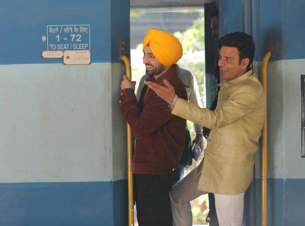 Suraj Pe Mangal Bhari: Diljit Dosanjh and Manoj Bajpayee shoot at a crowded CST platform in Mumbai