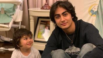 Taimur Ali Khan looks in awe of Arhaan Khan in this adorable picture!