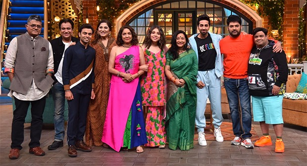 The Kapil Sharma Show: Ayushmann Khurrana says kissing scene with Jitendra Kumar is a necessity to normalize the sensitive topic
