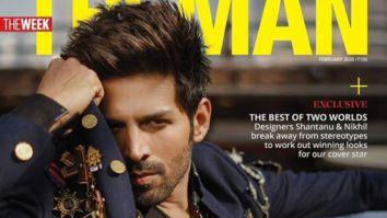 Kartik Aaryan On The Covers Of The Man