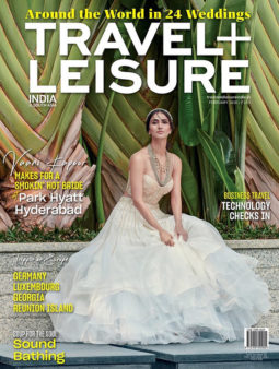 Vaani Kapoor On The Cover Of Travel + Leisure