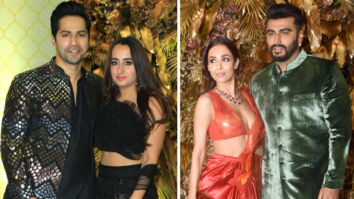 Varun Dhawan – Natasha Dalal and Arjun Kapoor – Malaika Arora make it a couple's affair at Armaan Jain – Anissa Malhotra's wedding reception