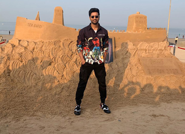 Vicky Kaushal visits the sand ship at Juhu Beach to promote Bhoot Part One – The Haunted Ship