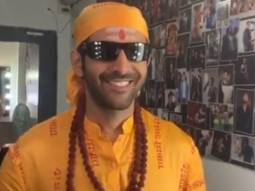 WATCH: Kartik Aaryan croons the title track 'Hare Ram' in godman avatar as Bhool Bhulaiyaa 2 team kickstarts Jaipur schedule