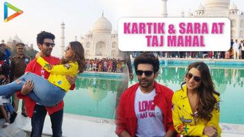 WOW- Kartik Aaryan & Sara Ali Khan at Taj Mahal to PROMOTE Love Aaj Kal