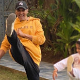 Akshay Kumar's daughter, Nitara, walks on his footsteps as she heads for her martial arts exam after taking tips from her father