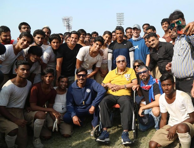 Ajay Devgn mourns the demise of football legend PK Banerjee who helped during Maidaan shooting