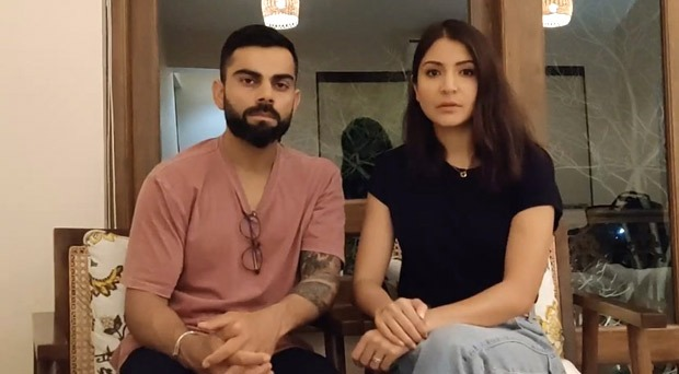 Anushka Sharma and Virat Kohli urge India to unite for 21 days, ask citizens to protect each other amid national lockdown!