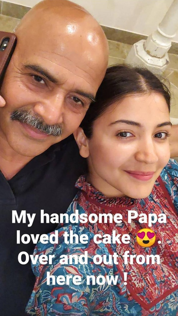 Anushka Sharma bakes birthday cake for dad amid self-quarantine period : Bollywood News thumbnail
