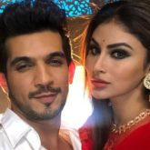 Arjun Bijlani shares memes on social distancing from Naagin 3 with Mouni Roy
