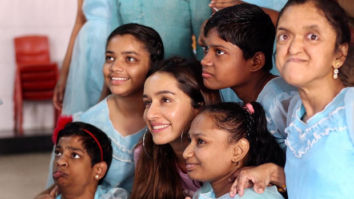 Baaghi 3 star Shraddha Kapoor celebrates her birthday today with special kids at an NGO