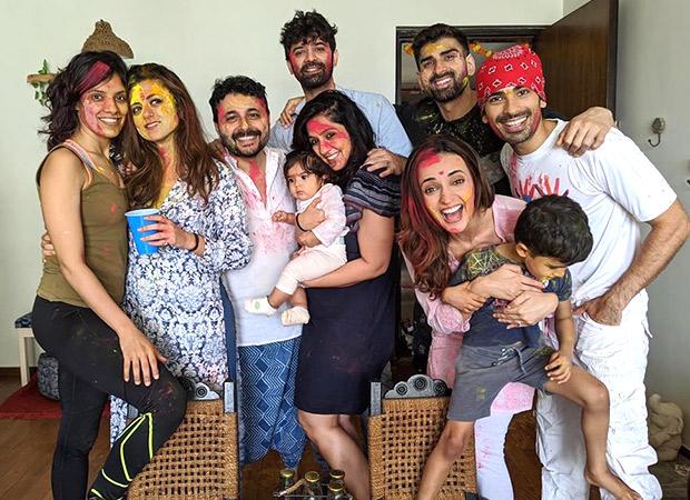 Barun Sobti, Sanya Irani, Mohit Sehgal, and gang celebrate Holi 2020 with love and laughter!