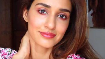 Disha Patani shares summertime pink glowy makeup tutorial amid self-quarantine period, watch video