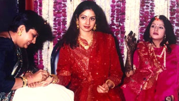Sridevi is a sight to behold in this throwback photo from Maheep Kapoor's wedding
