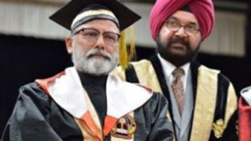 Shahid Kapoor congratulates father Pankaj Kapur as he receives his doctorate