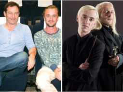 Harry Potter stars Tom Felton and Jason Isaacs have a Malfoy reunion to talk about self-isolation amid coronavirus pandemic