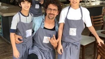 Hrithik Roshan finds a socially distant option to celebrate son Hrehaan's birthday!