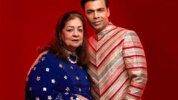 Karan Johar calls mother Hiroo Johar the wind beneath his wings as he wishes her on her birthday