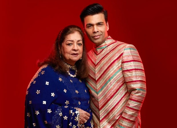 Karan Johar calls mother Hiroo Johar the wind beneath his wings as he wishes her on her birthday