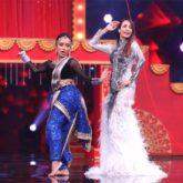 Malaika Arora shakes a leg on Katrina Kaif's song 'Kamli' with a contestant on India's Best Dancer