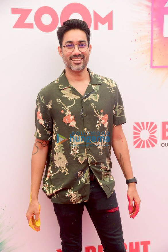 Photos Akshay Oberoi and Nucleya attend the Zoom Holi party 2020 (6)