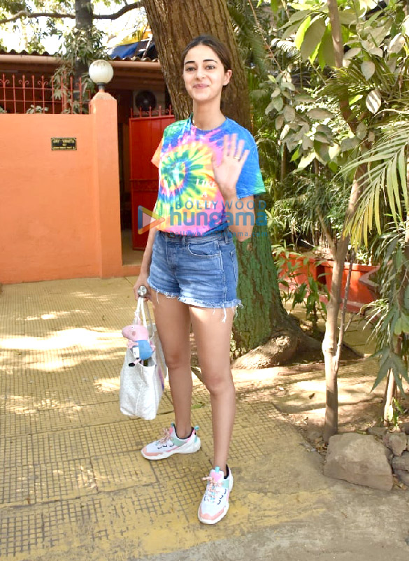 Photos Ananya Panday snapped at a dance class in Versova (5)