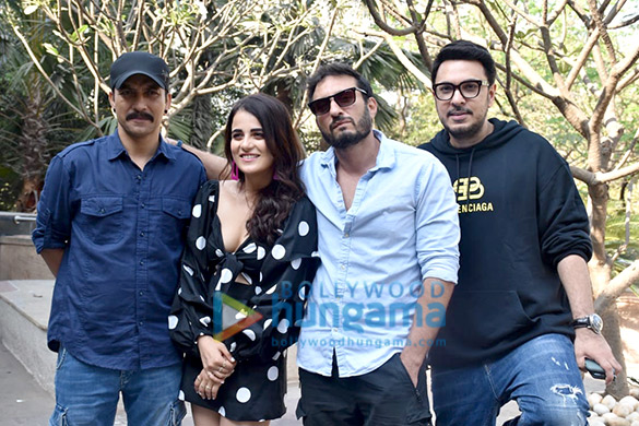 Photos Cast of Angrezi Medium snapped during promotions (3)